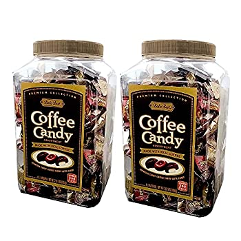 Bali s Best Coffee Candy Assortment Original Espresso & Latte 300Count Jars 2 Pack