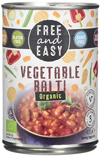 Free & Easy Vegetable Balti 400 g (Pack of 6)