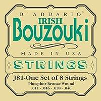 D'Addario ダダリオ ブズーキ弦 J81 Bouzouki-Irish 【国内正規品】