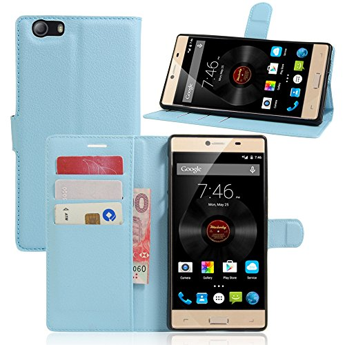 Litao-Case CN Hülle für Elephone M2 hülle Flip Leder + TPU Silikon Fixierh Schutzhülle Case 6