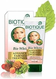 Biotique Bio White Advanced Fairness Treatment - 50g (Pack of 4)