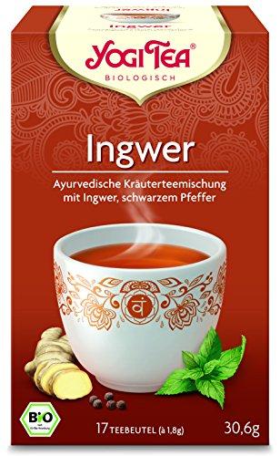 Yogi Tee BIO Ingwer Tee, 17 Btl. à 1,8g