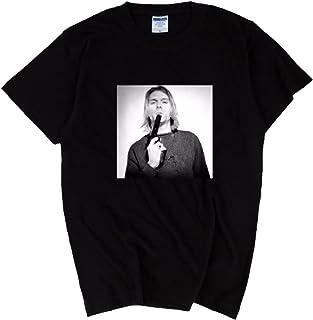 Kurt Cobain 7.7oz Heavy weight T-Shirts/カートコバーン Nirvana ニルヴァーナ Tシャツ [並行輸入品]