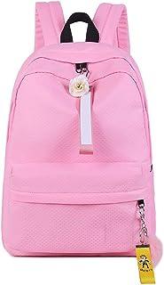 MYXMY Bag Female Korean Version of Harajuku Wild Simple Junior high School Students Large Capacity Backpack Small Fresh Shoulder Bag Female (Color : E)