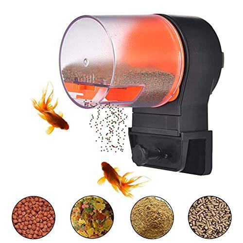 Cacoffay Automático Minutero Pez Alimentador, Acuario Alimentador Vac