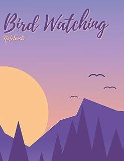 Bird Watching Notebook: Bird Watcher Gifts - Paperback Journal to write in