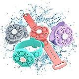 4 Pack Fidget Pop Bracelet Toys,Push Bubble...