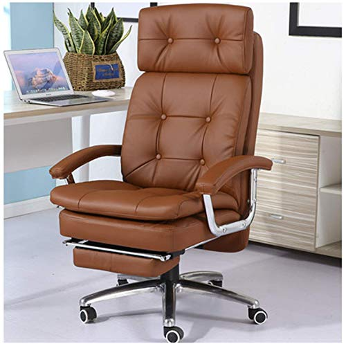 luckyW Boss Chair, Office Chair, Reclining Computer Chair, Home Study Chair, Wear-resistant Leather Chair, Massage Chair, Executive Chair