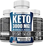Keto Diet Pills - 3000MG - Exogenous BHB - Made in USA - Professional Certified Facility - 60 Capsules of Ketosis Supplement - Best Ketogenic Supplement for Women & Men