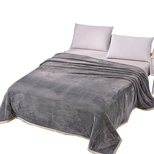 Couverture souple et confortable La simplicité élégante peut être fabriquée Air conditionné couverture bébé couverture de canapé peut être utilisé dans de nombreuses occasions disponibles dans une variété de tailles -Max Home