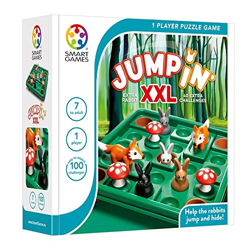 SmartGames Jump In XXL One Player Puzzle Brain Teaser