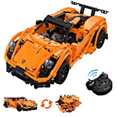 【ASSEMBLY MADE EASY】An easy-to-follow manual comes with this 421 pieces of blocks. It allows kids to build a racer model follows the manual or creates new models according to their imagination. It can help kids learn collaboration and teamwork. 【Impo...