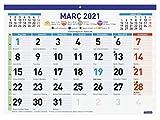 Finocam - Calendario/Faldilla 2021 Mixta F94 Catalán