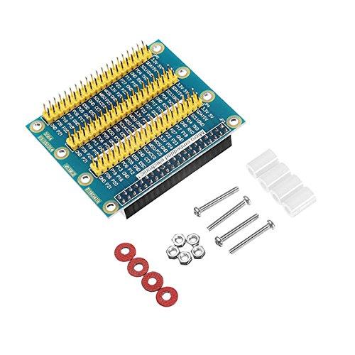 ILS GPIO Uitbreidingsplaat met schroef en moer en sticker voor voeten met hars en stevige zitting nylon voor Raspberry Pi 2/3