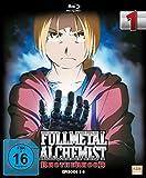 Fullmetal Alchemist: Brotherhood - Volume 1 (Digipack im Schuber mit Hochprägung und Glanzfolie) (Blu-ray) [Limited Edition] [Alemania] [Blu-ray]