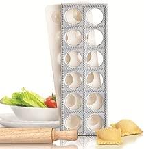 Ravioli Maker Pasta Mould Tray Cutter Mold Stamp Dumpling Italian