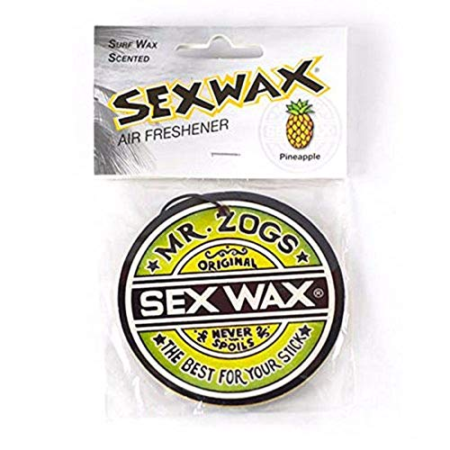 Sex Wax Car Air Freshener Pineapple Scent