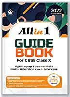 All in 1 Guide Book: CBSE Class 10 for 2022 Examination