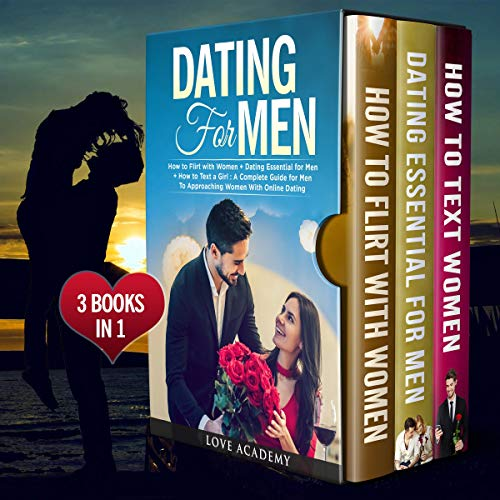 Dating for Men: 3 Books in 1 cover art