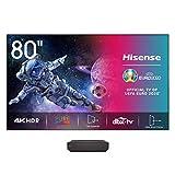 Hisense H80LSA Laser TV 80' con schermo, Risoluzione 4K, HDR10, Smart TV VIDAA 2.0, 1850 Lumen,...