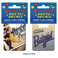 DC Comics Bombshells Batgirl Cover Credit Card Bottle Opener [並行輸入品]