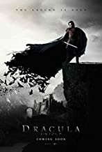 Dracula Untold Movie Poster 27 x 40 Style A 2014 Unframed