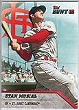 2016 Topps Bunt #139 Stan Musial Cardinals...