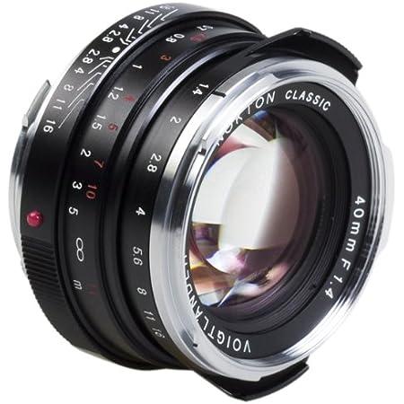 Voigtländer 40mm F 1 4 Nokton Classic Mc Schwarz Für Kamera