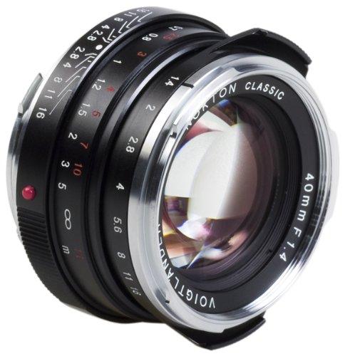 Voigtländer 40mm F/1.4 Nokton classic MC schwarz für Leica M
