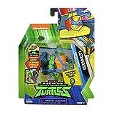 Rise of the Teenage Mutant Ninja Turtles Figura de acción Leonardo de concha de batalla