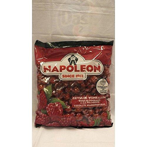 Napoleon Bonbons Gevulde Wijnballen 1000g Beutel (Himbeerpulver-Kern)