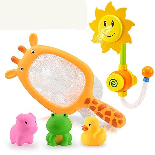 Jouets FEI en Caoutchouc de flottement sur Le thème Animal de flottement d'animal de Ferme pour Le bébé Début Éducation (Couleur : B)