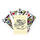 Poker negro Chip Poker Ilustración Patrón Jugar Juego De Tablero Divertido Tarjeta Mágica