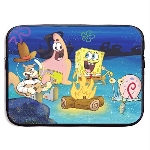 Spongebob Squarepants Laptop Sleeve Bag Tablet Briefcase Ultraportable Protective Canvas for MacBook Pro/MacBook Air/Notebook Computer13 Inch
