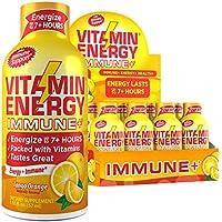 12-Pack VitaminEnerg Immune+ Zero Sugar Energy Shot