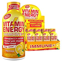 top 10 organic energy shots (12 packs) Vitamin Energy® Shot – Energy lasts up to 7 hours or more *, supports immune health *, excellent…