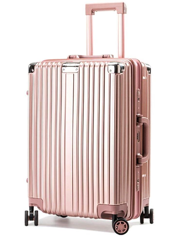 預言者因子スリップLNMLAN スーツケース アルミニウムマグネシウムフレーム 機内持ち込みスーツケース キャリーバッグ 静音キャスター 360°自由回転 旅行用4010