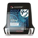 Bruni Película Protectora Compatible con Sigma Rox 5.0 Protector Película, Claro Lámina Protectora (2X)