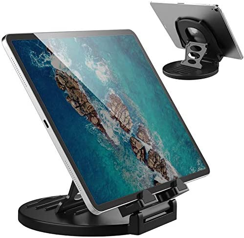 AboveTEK Tablet Stand 360 Rotating Commercial iPad Stand Swivel Design for Store Retail Office product image