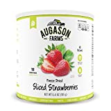 Augason Farms Sliced Strawberries 6.4 oz #10 Can by Augason Farms