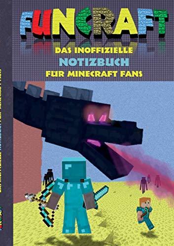 Funcraft - Das inoffizielle Notizbuch (kariert) für Minecraft Fans: Karierte Bögen/Papier, geeignet als Spielebogenpapier für das Buch 'Funcraft - ... Spiel, Schüler, Grundschüler, Studenten
