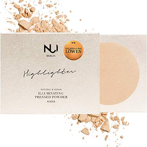 NUI Cosmetics Natural Illuminating Pressed Powder KARA - Naturkosmetik vegan natürlich glutenfrei - Highlighter Puder für einen perfekt strahlenden Look