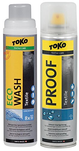 Duo-Pack Textile Proof & Eco Textile Wash by Toko