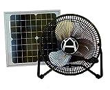 Western Harmonics Solar Powered 10 Watt Fan Kit