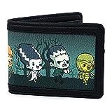 Loungefly Universal Monsters Chibi Group Bi-Fold Wallet