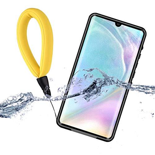 LifeePro Huawei P30 PRO Custodia Impermeabile, Outdoor IP68 Certificato Waterproof Cover Slim Antiurto Antineve Antipolvere AntiGraffio Subacquea Caso Full Protezione Custodia Protettiva Shell Nero