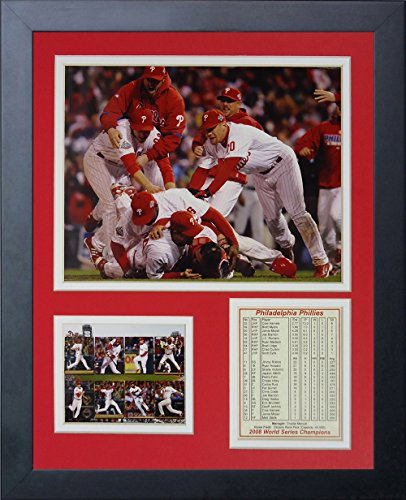 2008 Philadelphia Phillies MLB Framed 8x10 Photograph 2008 World Series Champions Banner