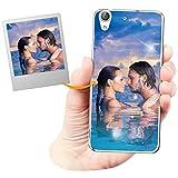 Coque Personnalisée avec Effet Brillance pour Huawei Y6 II avec Votre Photo, Votre Image ou Votre...