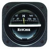 Es - E.S. Ritchie Ritchie V-537 Explorer Compass - Bulkhead Mount - Black Dial