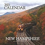 "New Hampshire: 2021 Wall Calendar - Mini Calendar, 8.5""x8.5"", 12 Months"